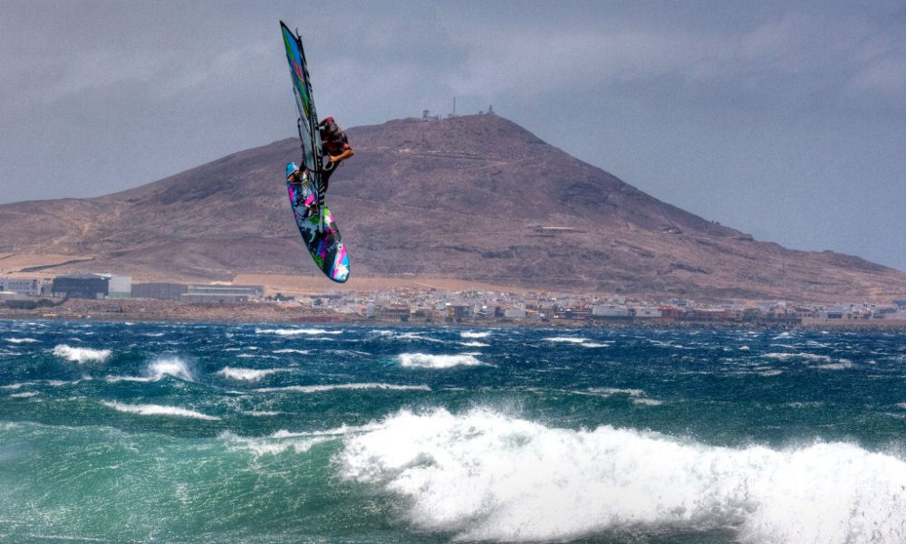 Pozo - another pro favourite, this time for windsurfing. https://www.flickr.com/photos/azuaje/