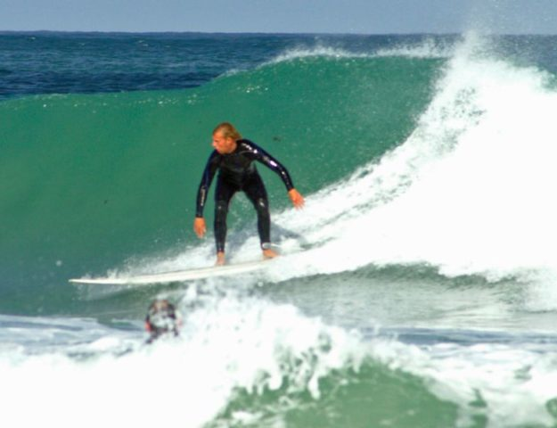 Surfing at St Ives